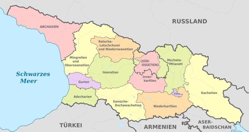 regionen-georgien