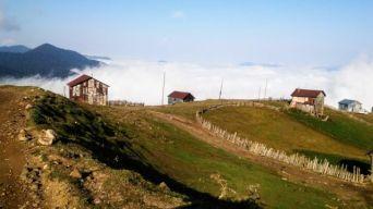 Adscharien, idyllische Berglandschaft unweit vom Schwarzen Meer