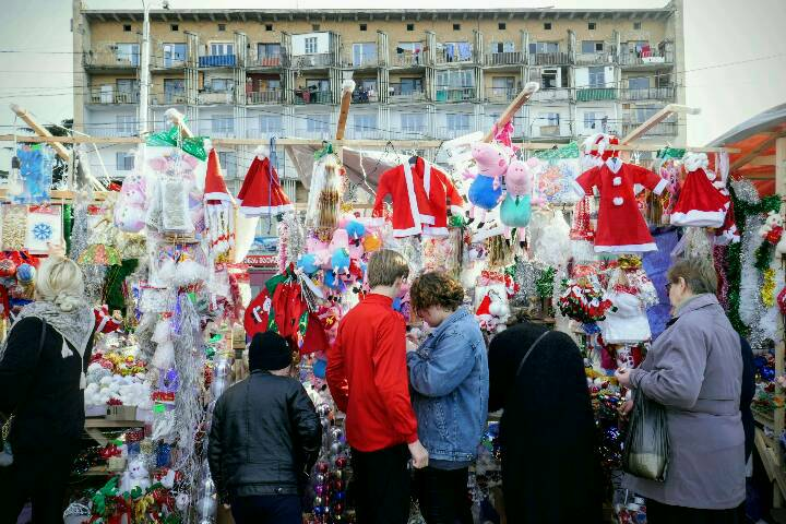 Weihnachtsmarkt in Tiflis