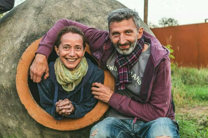 Wacho Chvitschia und Brigitte Renz wünschen ein gutes Neues Jahr!